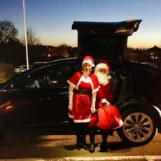 Driving Mr & Mrs Christmas